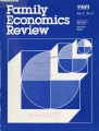 Family Economics Review [1989, Volume 2, Number 3]