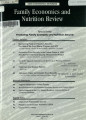 Family Economics and Nutrition Review [Volume 11, Number 1-2]