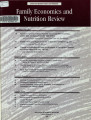 Family Economics and Nutrition Review [Volume 12, Number 1]