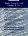Family Economics and Nutrition Review [Volume 13, Number 1]
