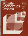 Family Economics Review [1990, Volume 3, Number 4]