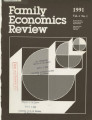 Family Economics Review [1991, Volume 4, Number 1]