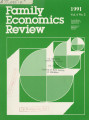 Family Economics Review [1991, Volume 4, Number 2]