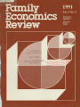 Family Economics Review [1991, Volume 4, Number 4]
