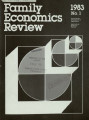 Family Economics Review [1983, Number 1]