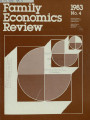 Family Economics Review [1983, Number 4]