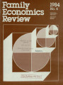 Family Economics Review [1984, Number 4]