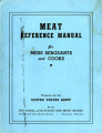 Meat reference manual for mess sergeants and cooks