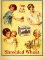 For all ages  shredded wheat