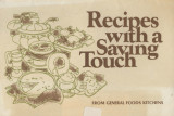 Recipes with a saving touch  from General Foods kitchens
