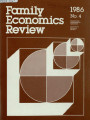 Family Economics Review [1986, Number 4]