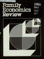 Family Economics Review [1986, Number 1]