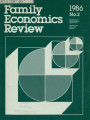 Family Economics Review [1986, Number 2]