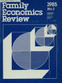 Family Economics Review [1985, Number 3]