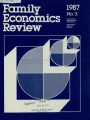 Family Economics Review [1987, Number 3]