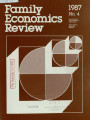 Family Economics Review [1987, Number 4]