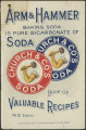 Arm & Hammer baking soda is pure bicarbonate of soda : book of valuable recipes