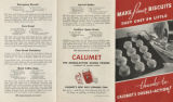 Make finer biscuits : they cost so little thanks to Calumet's double-action!