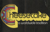 Cheesecake, a worldwide tradition