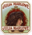 Cigar Box Label, Julia Marlowe