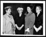 [Martha Blakeney Hodges with three unidentified women]