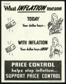 What inflation means - price control helps stop inflation...support price control