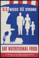 U.S. needs us strong - eat nutritional food