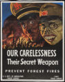 Our carelessness - their secret weapon - prevent forest fires