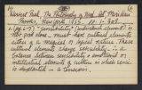 Research Notes [Maud Gatewood Collection]