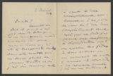 [Letter from Pablo Casals to Susan Metcalfe, 2 January 1914]