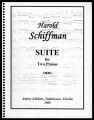 Suite for Two Pianos