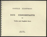 Duo Concertante for Violin and English Horn
