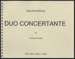 Duo Concertante for Violin and Clarinet