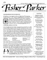Fisher Parker [February 2009]