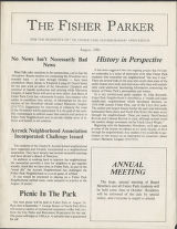 Fisher Parker [August 1980]