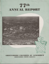[Annual report, Greensboro Chamber of Commerce, 1953]