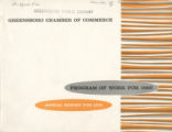 [Annual report, Greensboro Chamber of Commerce, 1959]