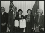 [Jane Helms Vance's retirement; 1987]