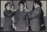 [Sandra Van Neel Ross promotion to Major, circa 1980]