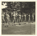 [WACs at Command Inspection, circa 1952]
