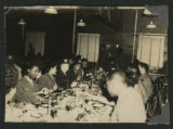 [African American WACs and soldiers dining, circa 1943-1945]