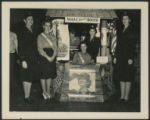 [W.A.A.C. Information Booth, circa 1942]