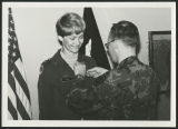 [Marcia Snow receiving the bronze star, 1980]