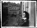 [Mary Haynsworth Mathews in Germany, 1945]