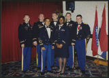 [Rhonda Lynn Crawford Sloan at a battalion ball, 2001-2002]