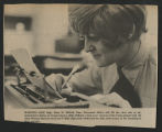 [Newspaper clipping featuring Staff Sergeant Rose M. Dillard, 1972]