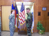 [Photograph of Melissa Culbeth taking oath]