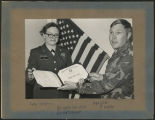 [Specialist 5 Mary Layton re-enlistment, 1978]