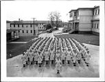 [Women Marines company at Henderson Hall, circa 1946]
