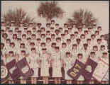 [Group photograph of Louise Quadri-Doak's basic training group, 1976]